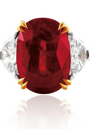 天价橙色钻石
