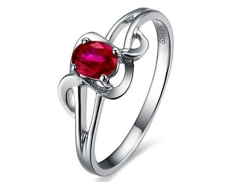 网上买红宝石戒指