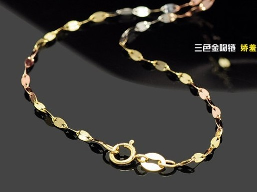 周大福彩金项链官网淘宝天猫价格【热卖】