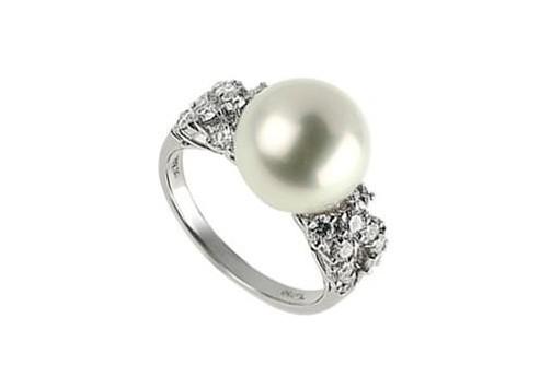 周大福珍珠戒指最新款式_图片_评论
