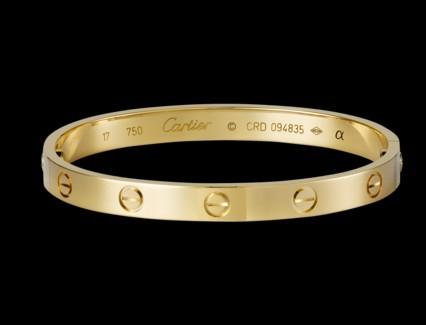 卡地亚黄金手镯怎么样