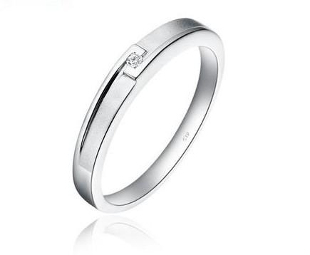 周大福银戒指怎么样