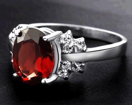 水晶戒指正确戴法