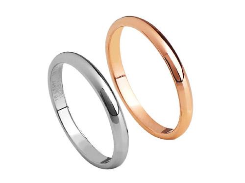 艾念银饰戒指-钛钢情侣戒指