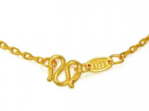 周生生黄金项链-万字项链