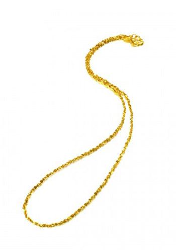 周生生黄金项链-满天星项链