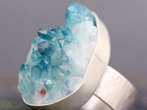 蓝水晶项链价格