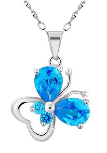 蓝水晶吊坠一般价格