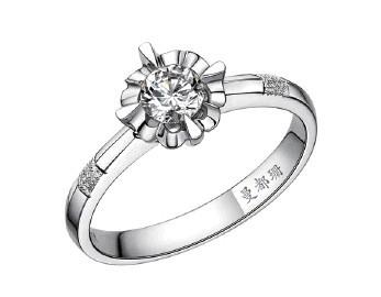 曼都珊珠宝戒指