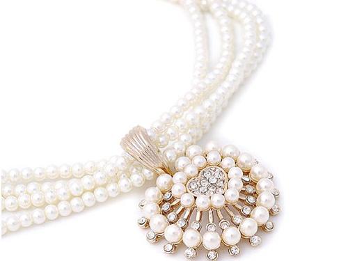 珍珠饰品风格搭配