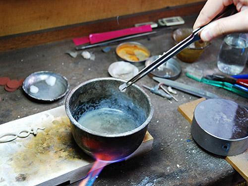 银饰品清洗新方法
