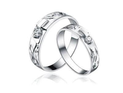 晶永恒珠宝戒指