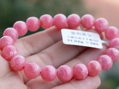 红纹石手链作用-招桃花