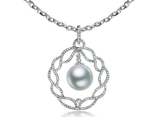 看形状选购珍珠吊坠