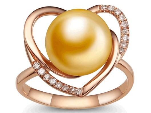 恒得福珠宝戒指
