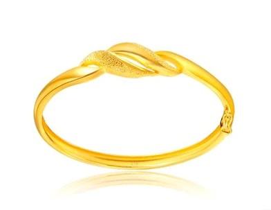 周大福黄金手镯20克款式图片-周大福黄金手镯 珠宝品牌 佐卡伊珠宝之