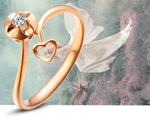 今上珠宝1克拉钻戒多少钱