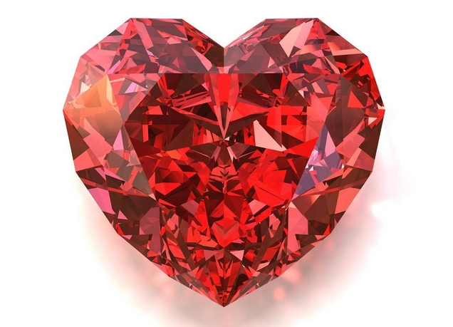 天然红宝石