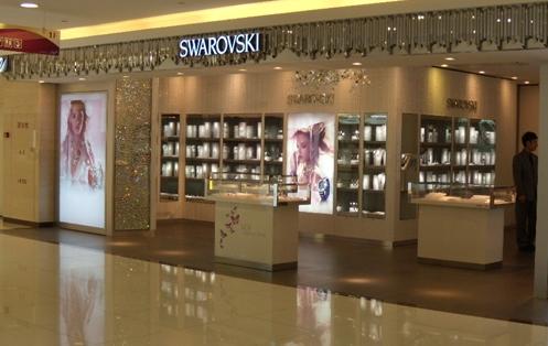 广州施华洛世奇天河区国际金融中心珠宝店