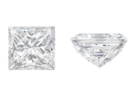 2.00克拉, J 颜色和 SI2 净度的 公主方形 钻石