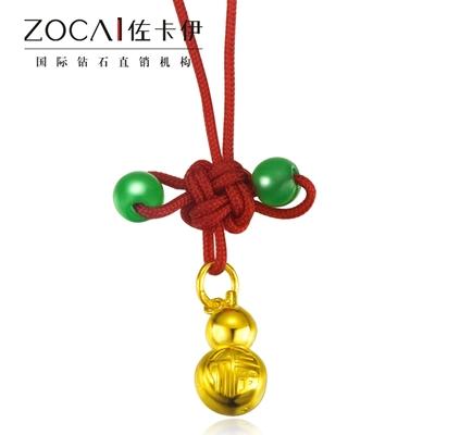 【幸福葫芦】 足金/黄金女士吊坠