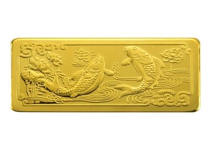 【年年有余】 足金/黄金金条