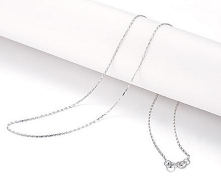 【天音】 白18K金女士项链