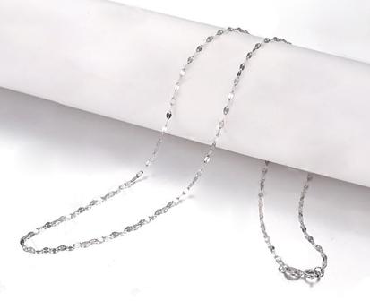 【柔情】 白18K金女士项链