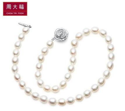 周大福珍珠项链款式推荐