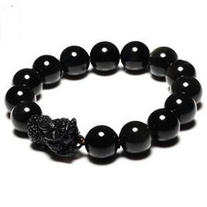 黑水晶手链