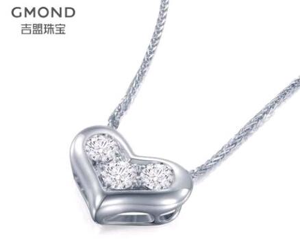 吉盟钻石吊坠官网价格款式图片