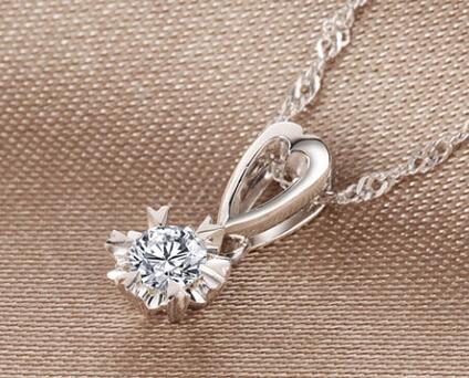 恒久之星钻石吊坠官网价格款式图片