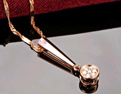 恒达福钻石吊坠官网价格款式图片