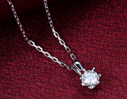 唯爱钻饰钻石吊坠官网价格款式图片