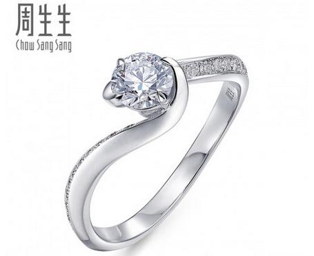 周生生50分钻石价格 周生生0.5克拉钻石多少钱