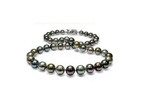天然黑珍珠与人工处理黑珍珠