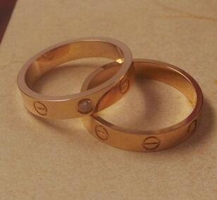 卡地亚结婚戒指