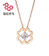 钻石小鸟项链