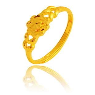 招金银楼黄金戒指
