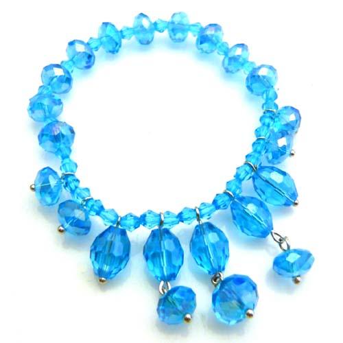 蓝水晶,蓝水晶手链,佐卡伊手链