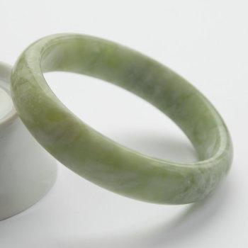蛇纹石玉,蛇纹石玉手镯,手镯