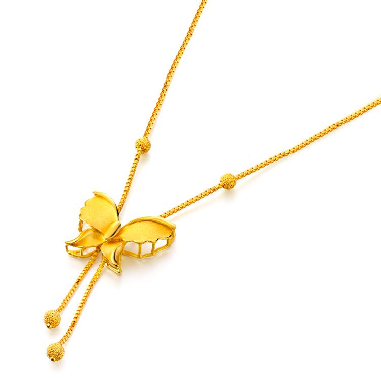 周大福女士黄金项链有哪些款式 周大福女士黄金项链图片