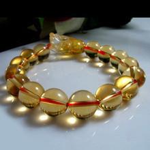 天然黄水晶手链价格 天然黄水晶手链一般多少钱