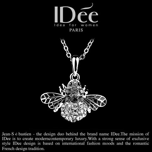 IDee首饰黑色魅力高贵而神秘-法国IDee艺术首饰 小恶魔