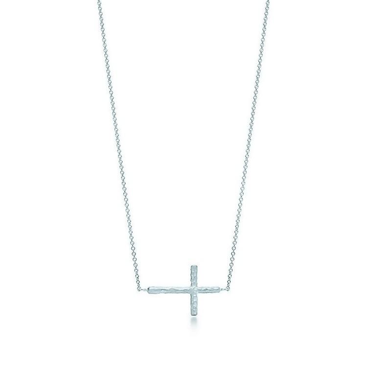 蒂芙尼十字架项链款式