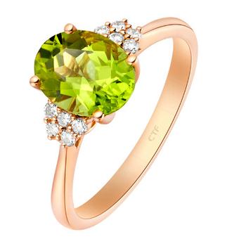 橄榄石,橄榄石戒指,佐卡伊戒指
