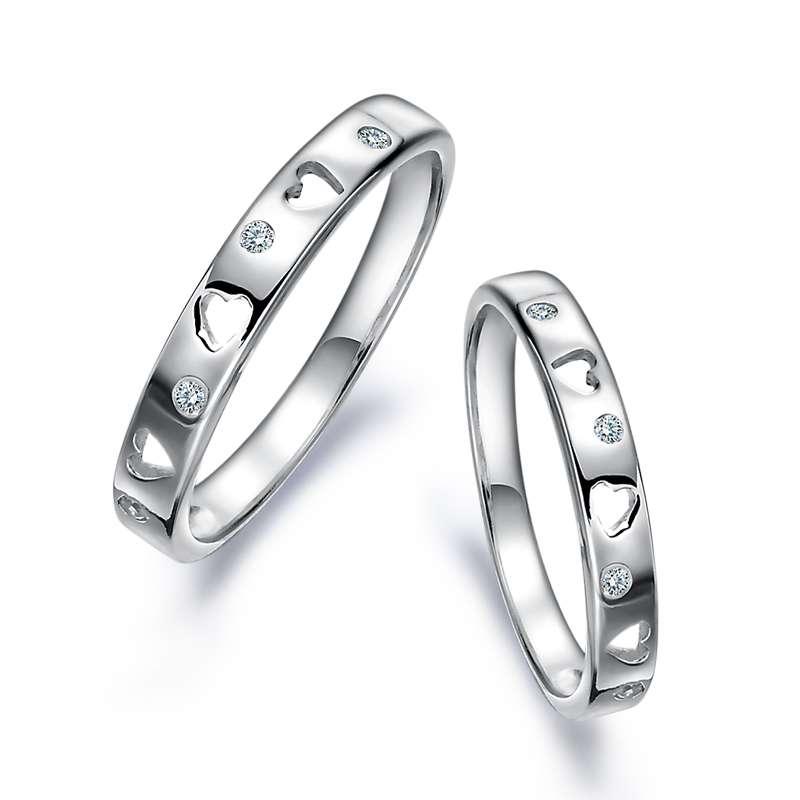 纯银戒指,纯银对戒,对戒