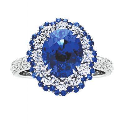 蓝宝石戒指价格