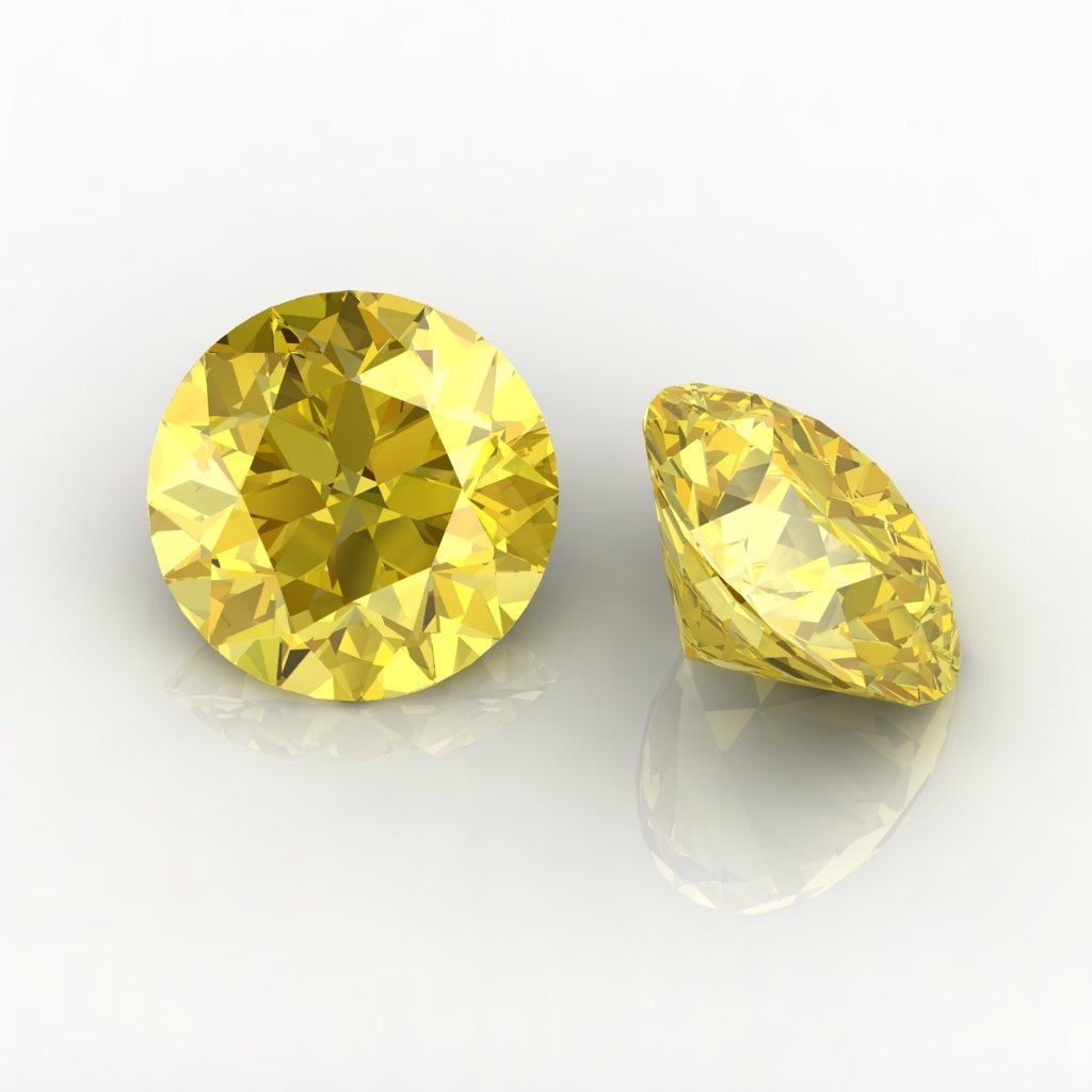 黄色蓝宝石