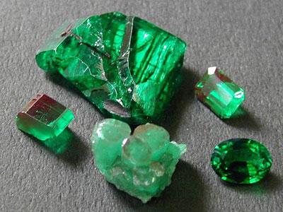 我所知道的新疆祖母绿
